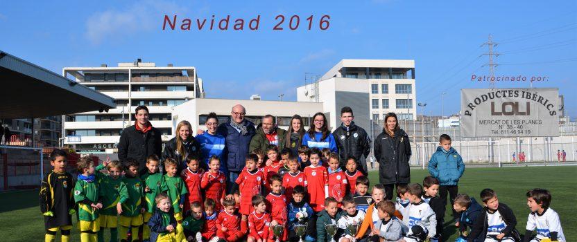 Torneo Promesas Levante Las Planas Navidad 2016