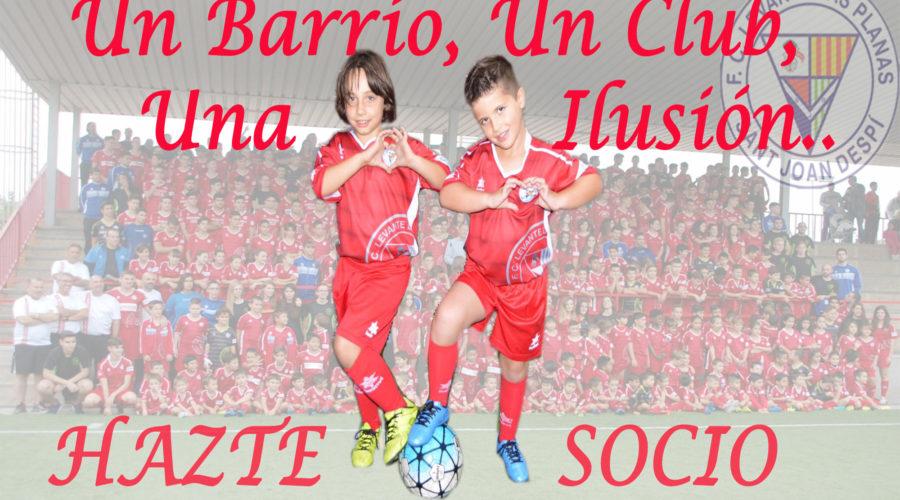Recogida carnets socios temporada 2016 – 2017