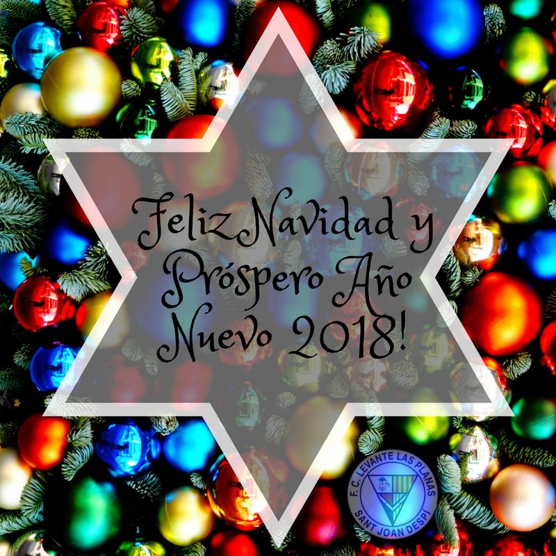 Feliz Navidad yPróspero Año Nuevo 2018!