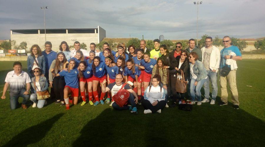 El femenino A pasa ronda en la Copa Catalunya!