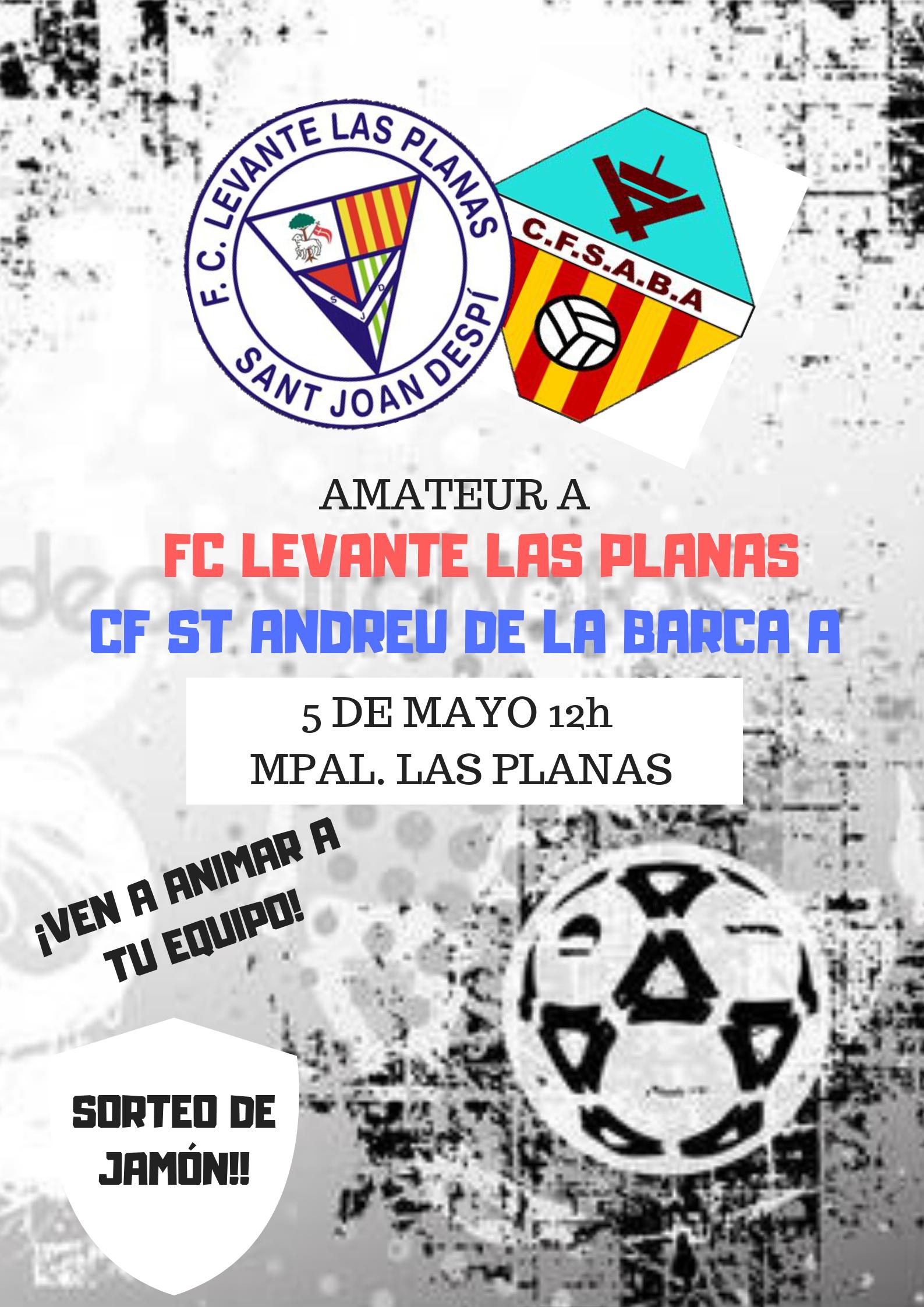 Amateur A vs CF St Andreu de la Barca